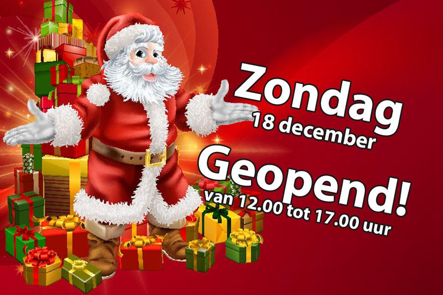 18 december geopend