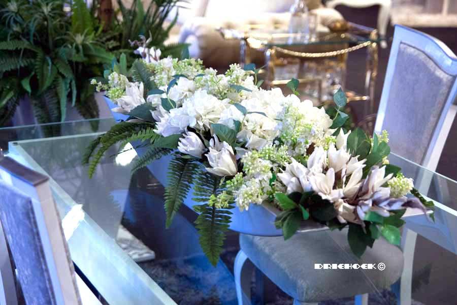 Zijden bloemstukken